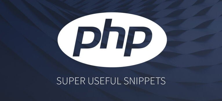 Super useful PHP Snippets