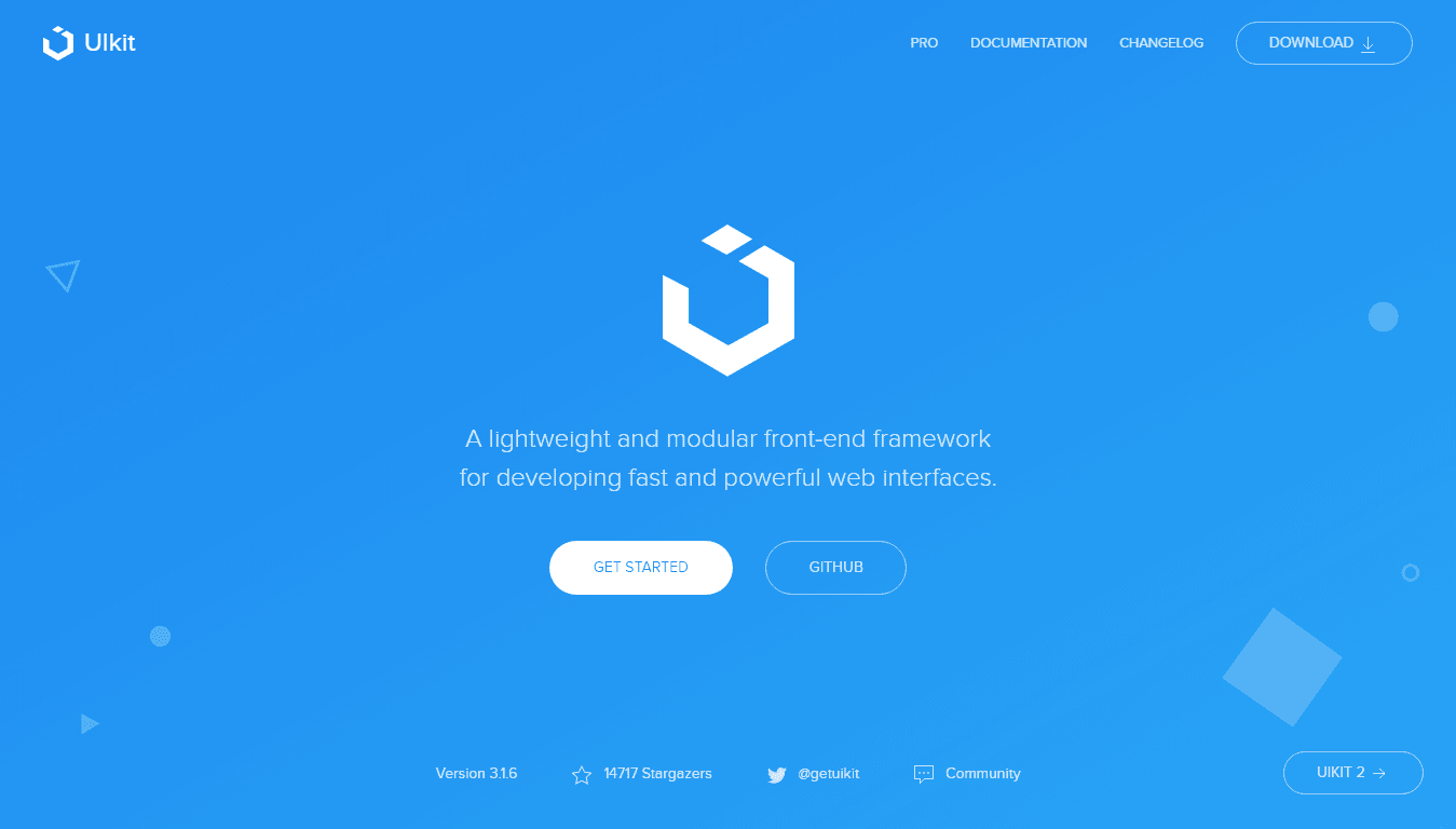 UI Kit Modern CSS Framework